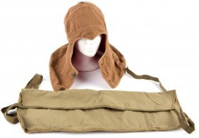 Vintage Cold Weather Hood & Ammo Pouch