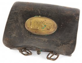 Civil War Us Cartridge Box