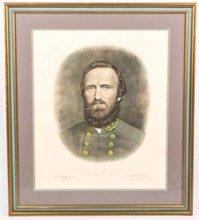 Framed Stonewall Jackson Print