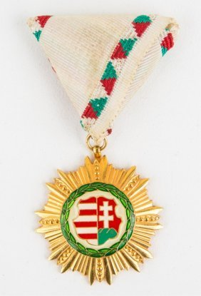 Order Of Merit Of The Republic Of Hungary Medal