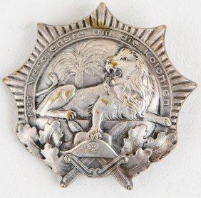 German Weimar Colonial Veteran Association Badge