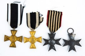 Prussian Merit Cross Medal Lot Of 4