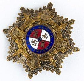 Spain Order Of Maria Christina Breast Star Badge
