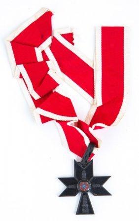 Croatia Order Of The Iron Trefoil Medal