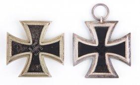 Wwii German Iron Cross Lot Of 2