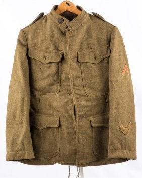 Wwi Us Army 32nd Infantry Division Uniform