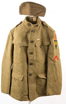 Wwi Us Army 332nd Inf Regiment Uniform
