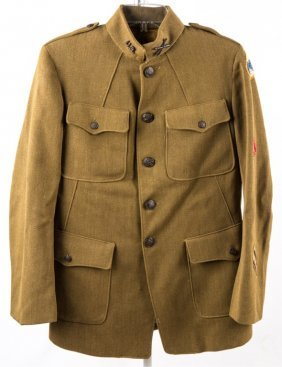 Wwi Us 4th Corps Artillery Jacket