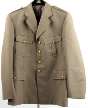 Cold War French Doctor's Uniform Coat