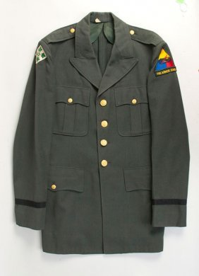 Us Army Armored School Officer's Uniform