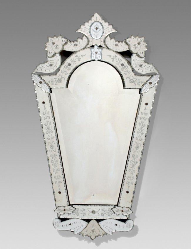 spiegel venezianische art spiegelglasauflagen auf lot 123. Black Bedroom Furniture Sets. Home Design Ideas