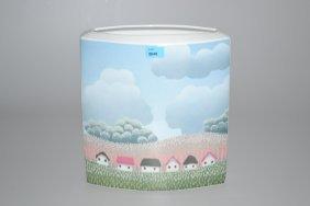 Vase, Rosenthal Studio-linie. Entwurf Dekor: Ivan