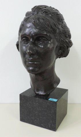Amlehn, Paul (sursee 1867–1931 Sursee) Frauenkopf.