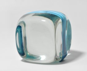 Paperweight, Venini Fr Pierre Cardin Entwurf: Ludovico