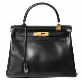 """Hermès, Handtasche """"kelly"""" Gemarkt """"hermès Paris Made"""