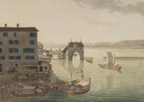 """Meyer, Johann Jakob (meilen 1787–1858 Zürich) """"vue"""