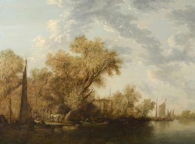 Ruysdael, Salomon Van (naarden 1600–1670 Harlem)