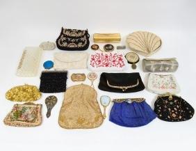 Large Group Of Assorted Ladies Handbags & Purses