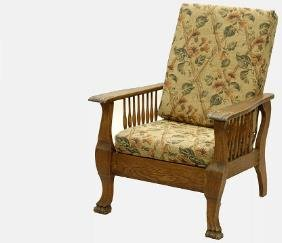 Vintage Oak Morris Chair