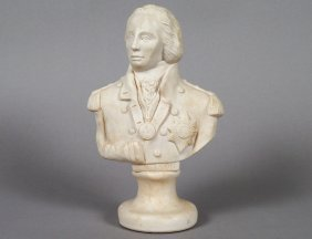 ALABASTER BUST OF NELSON