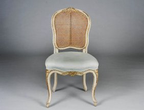 NEO-CLASSICAL PAINTED SIDE CHAIR