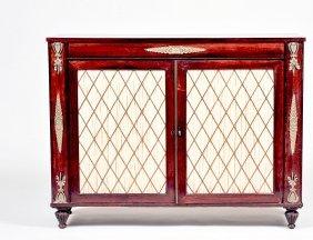 Empire Style Mahogany Sideboard