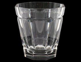 Val St. Lambert Crystal Champagne Bucket