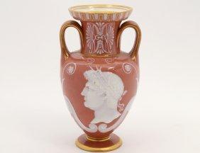 Minton Pate Sur Pate Porcelain Vase