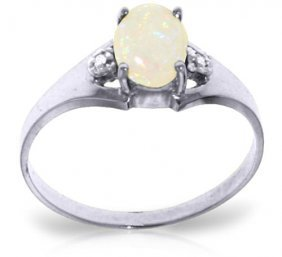0.46 Carat Platinum Plated Sterling Silver Rings Natura