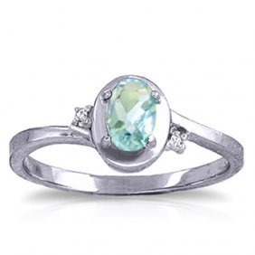 0.51 Ctw Platinum Plated Sterling Silver Rings Diamond