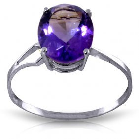 2.2 Ctw Platinum Plated Sterling Silver Opulence Purple