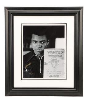"Sports Memorabilia, Muhammad Ali, ""A Wanted Man"""