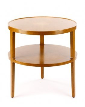 Dunbar Two Tier Occasional Table, Wormley