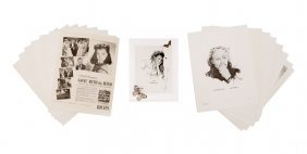 Collection Of Gwtw 50th Anniversary Lithographs