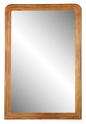 Monumental Louis Philippe Style Gilt Pier Mirror
