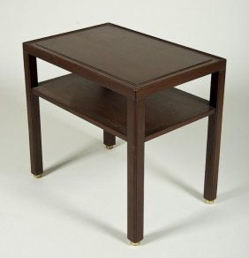 Edward Wormley For Dunbar Hardwood Side Table