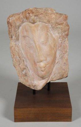 Marble Sculpture Manner Of William Zorach (1887-1