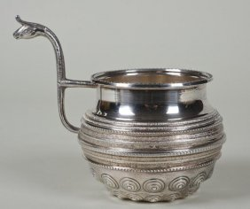 Grecian Sterling Silver Cup By Ilias Lalaounis