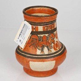 Guanacaste/Nicoya Painted Ceramic High Footed Jar