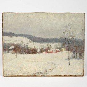 Louise M. Kamp (1867-1959, American), Painting