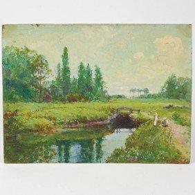 Francis Edgar Gates (1863-1953, American).paintin
