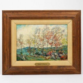 Henry Rodman Kenyon (1861-1926, American), Painti