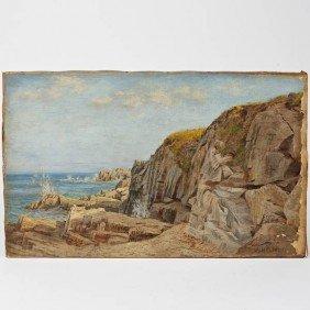 Albert Babb Insley (1842-1937, American), Paintin