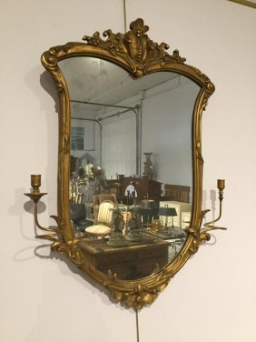 Friedman Bros. Gilt Girandole Mirror