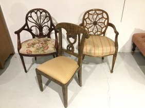 (3) Georgian And Regency Style Chairs