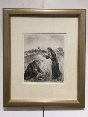 Marc Chagall, Originall Etching