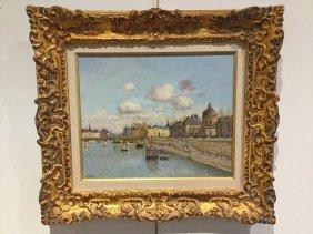 Laurent Vialet, Oil On Canvas