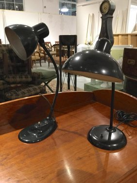 Christian Dell And Marianne Brandt Lamps