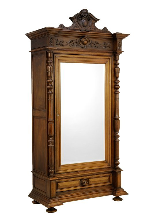 A FRENCH BAROQUE STYLE ARMOIRE  Lot 78 -> Armoire Style Baroque