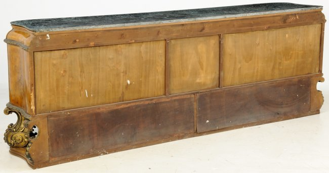 An italian parcel gilt burlwood and marble sideboard lot 240 for Sideboard 240